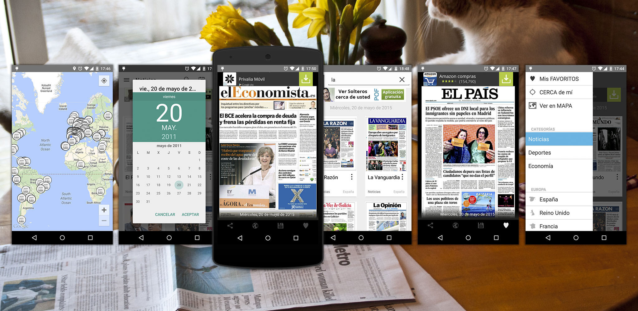 Smart Covers | The best way to check the daily covers of the most read newspapers of the world.