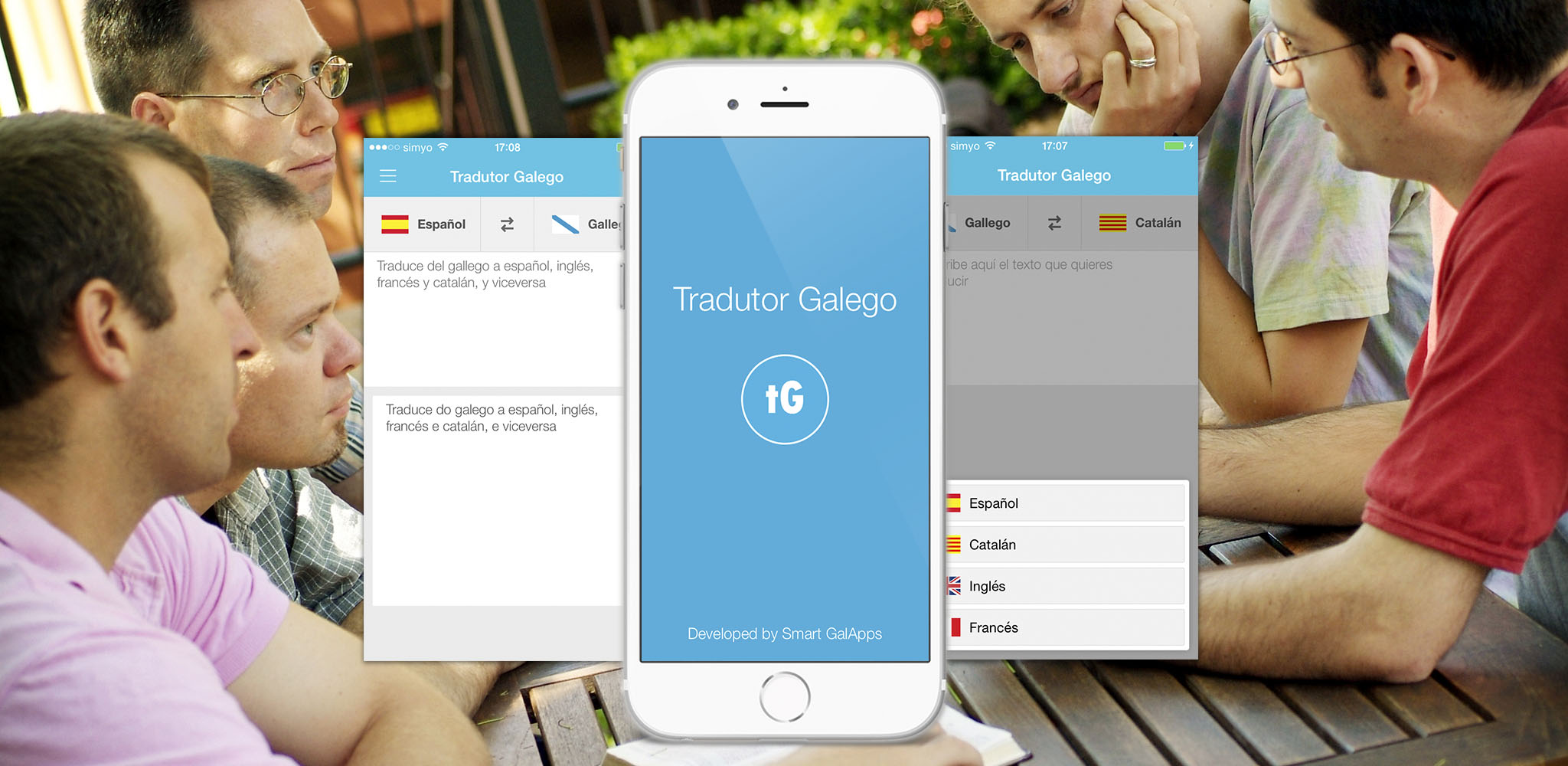 TradutorGalego | Translates texts from Galician to Spanish, Catalan, French, English, and vice-versa.